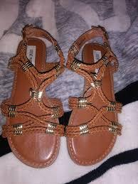 Steve Madden Glendale Steve Madden Brown And Gold Size 5 Sandals For Sale In Glendale Az