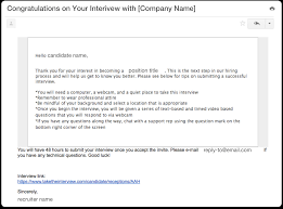 Invite To Interview Template 2nd Interview Thank You Letter Us With