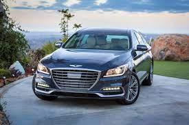 2019 Genesis G80 Sedan Hyundai Luxury Sedan