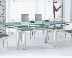 stainless steel dining room tables