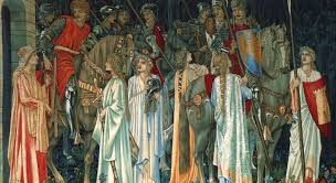 the knights of the round table edward burne jones