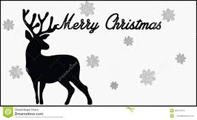 merry christmas card black and white. Contemporary White Merry Christmas Card Black And White Deer On Card Black And White N