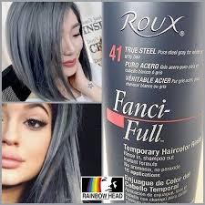 Mulpix Roux Fanci Full Rinse True Steel Temporary Hair Color