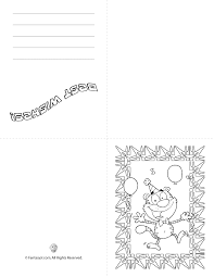 There are separate cards for your grandpa, grandma, dad and mom. Birthday Cards To Color Carinewbi