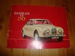 Daimler V8 250 1967 69 Uk Market Sales Brochure Jaguar Mk2