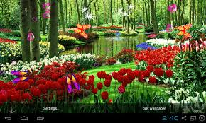 3d garden live wallpaper screenshot 1 5