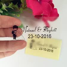 1 5 2 5 Inches Custom Rectangle Labels Personalized Sticker Wedding