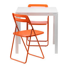 folding chairs ikea. Brilliant Chairs Attractive Ikea Folding Table And Chairs Set Melltorp Nisse 2  Intended R