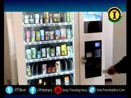 Drug Dispensing Vending Machine New Delhi Goverment Installed Medicine Vending Machine In Mohalla Clinic
