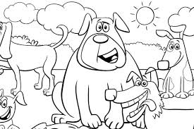 Good dog coloring page 30 in seasonal colouring pages with dog. Dog Coloring Pages Printable Coloring Pages Of Dogs For Dog Lovers Of All Ages Printables 30seconds Mom
