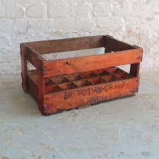 vintage belgian beer crate