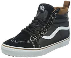 vans shoes black on black. vans u sk8-hi mte, unisex adults\u0027 hi-top sneakers sneakers, shoes black on