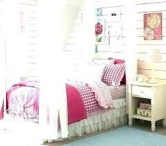 Farmhouse Canopy Bed Pottery Barn Full Size Wrought Iron Kids C ...