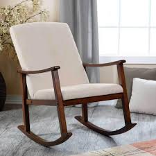 wooden rocking chair for nursery. Chair Outside Wooden Rockers Rocking Kit Rolling Blue Nursery For I