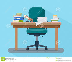 office work tables. Busy Cluttered Office Table. Hard Work.. Stock Photography Work Tables N