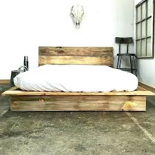 High Rise Bed Frame Queen Luxury Frames Under Unique Floor Beds For ...