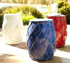 cobalt blue ceramic garden stool garden with colorful garden stools cobalt blue ceramic garden seat