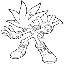 Shadow Coloring Page Shadow Coloring Pages Sonic Hedgehog Coloring