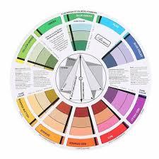 Tattoo Pigment Color Wheel Chart Supplies Art Paper Mix