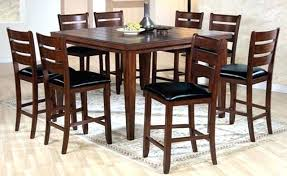 pub style dining table set chic pub style table sets pub style dining room set best