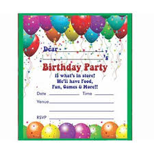 Invitations Card For Birthday Birthday Invitation Card View Specifications Details Of Birthday