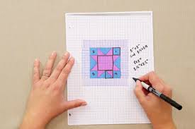 how to design a quilt on graph paper how to design a quilt on graph paper video favequilts com
