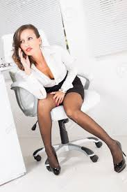 hot office pic. Hot Business Woman Talking On The Mobile Phone In Office Stock Photo - 27868837 Pic
