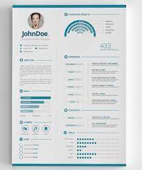 Graphic Resume Template Modern Cv Resume Templates With Cover Letter Design  Graphic