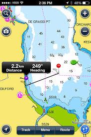 Lake Simcoe Depth Chart Navionics App For Android Fishing Reports