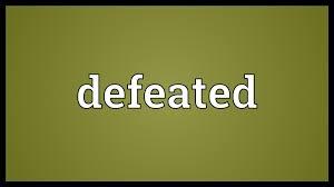 「defeated」の画像検索結果