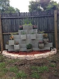 innovative block garden wall concrete block garden wall alices garden