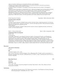 Adjuster Cover Letter Sample With Cover Letter For Claims Adjuster ...