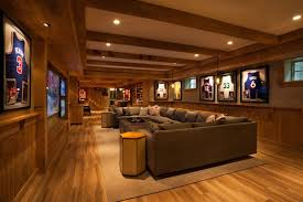 best basement design. Perfect Best Man Cave Basement Designs Transitional Garrison Hullinger  With Regard To Decoration On Best Design