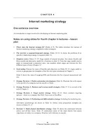 internet marketing strategy and practice