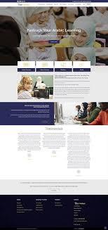 Bespoke Web Design Company Bespoke Website Design And Development For Tutor Arabiya