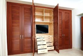 Wardrobes: Wood Wardrobe Closet Home Depot Incredible Home Depot Closets  Within Bedroom Hanging Rods Shelves