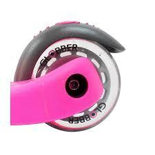 <b>Y</b>-<b>Scoo</b> RT Globber My free Fixed - детский <b>самокат</b> розовый с ...