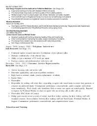 Library Job Resume Resume Template Nanny resume example sample babysitting  children professional skills jobs