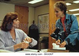 jodie foster kelly mcgillis the accused stock photo  the accused 1988 kelly mcgillis jodie foster tac 002 stock photo