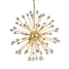 12 light gold chandelier