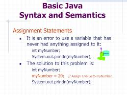 java concepts chapter using objects mr smith ap computer  12 basic java syntax and semantics assignment