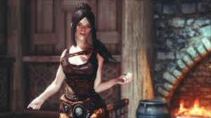 Skyrim Hair Style Mod female hairstyles with physics at skyrim nexus mods and munity 5053 by wearticles.com