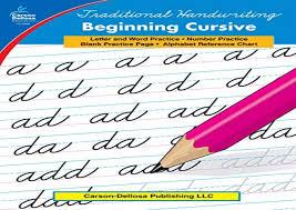 Online Cursive Chart Read Traditional Handwriting Beginning Cursive Grades 1