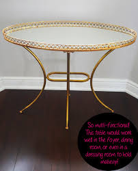 Home Hardware Bathrooms Spring Shopping My New Gold Mirrored Table From Buildcom
