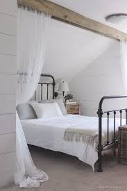 shabby chic decor and bedding ideas wood beam and lace curtains rustic and romantic