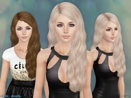 Amelia Hairstyle - Set by The Sims Resource - Sims 3 Hairs
