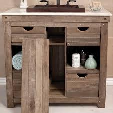 Bathroom Vanity Base Chardonnay 36 Inch Single Sink Vanity Native Trails