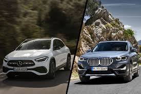 Find out what these beauties offer! 2021 Mercedes Benz Gla Vs Bmw X1 Spec Comparison