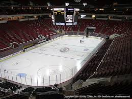 Pnc Arena Seating Chart Post Malone Pnc Arena View From Club Level 225 Vivid Seats