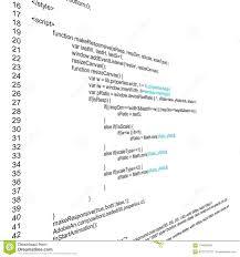 Creative Illustration Of Programming HTML Code On Computer Screen ...